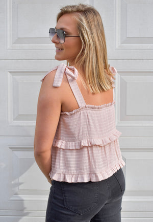 The Babe Tank- Pale Blush