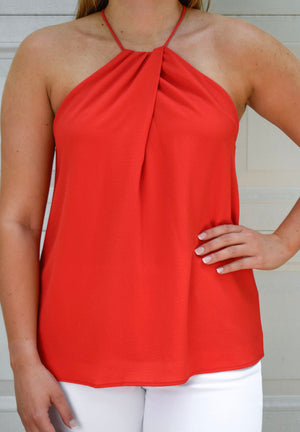 The Nora Tank- Red