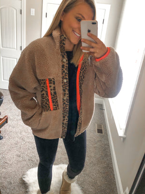 The Roxanne Sherpa Jacket