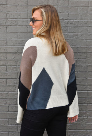 The Lola Colorblock Sweater