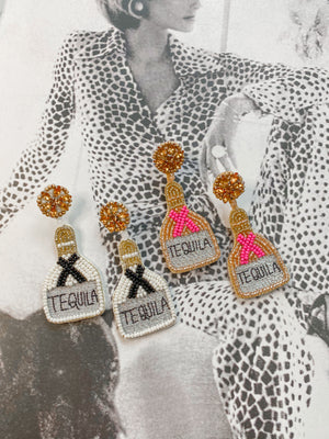 Tequila Statement Earrings