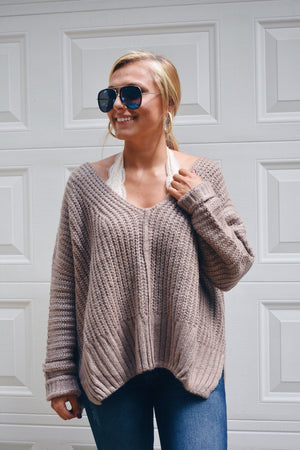 Stay Neutral Pullover Sweater