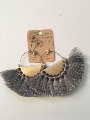 Fan Flare Earring