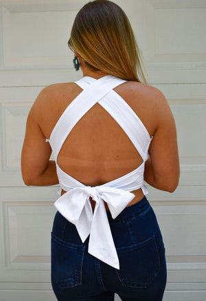 The Tommie Top-White