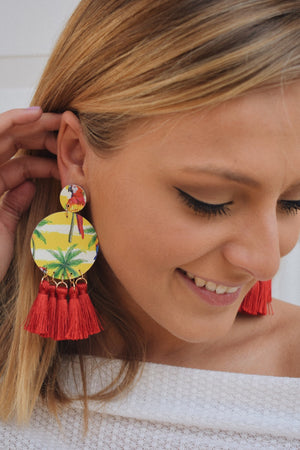 To the Beach Statement Earrings