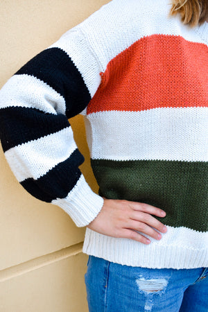 The October Sweater- Multi