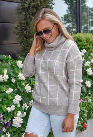 The Ryleigh Sweater- Oatmeal