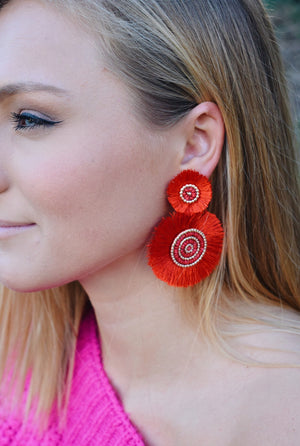 Close to Me Statement Earrings