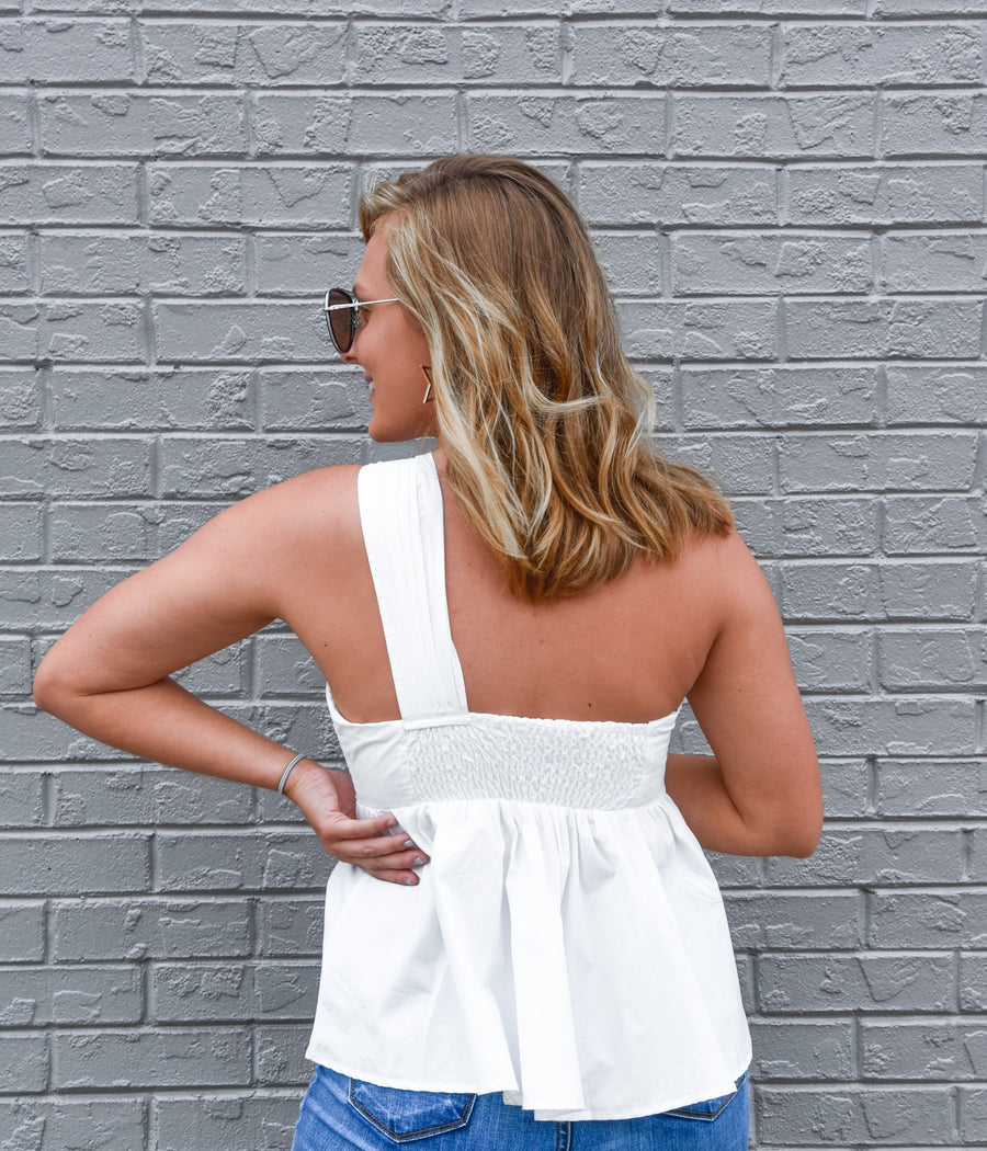 Perfect Fit Top- White