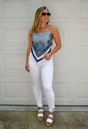 The Sloane Scarf Top