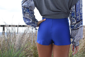 Royal Blue Skort