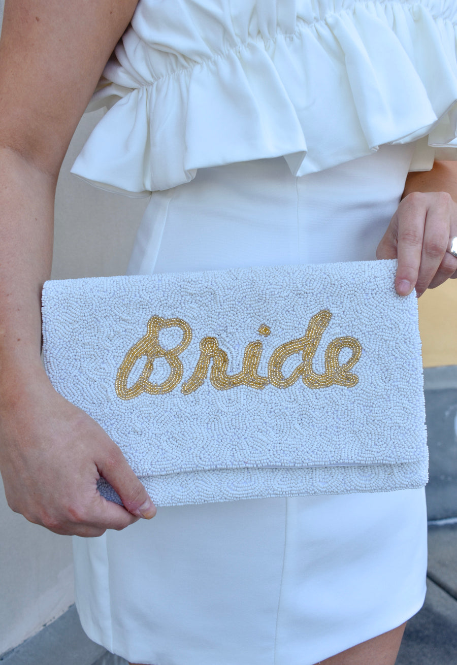 Bride Clutch- Gold