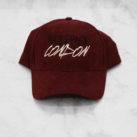 wolfpack london signature suede cap