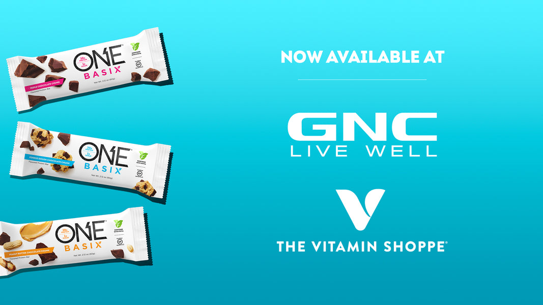 Find ONE Basix available at GNC and Vitamin Shoppe