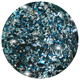 Another of our favourites at Glitterlution!  This gorgeous blend of teals, blues, greens, and big chunky silvers is fantastic for a super sparkly, and glamourous look!