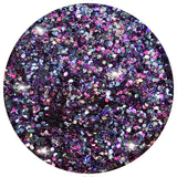 This blend is great fun! With super chunky pinks, lilac, silver and gold, you'll be rocking that unicorn style!