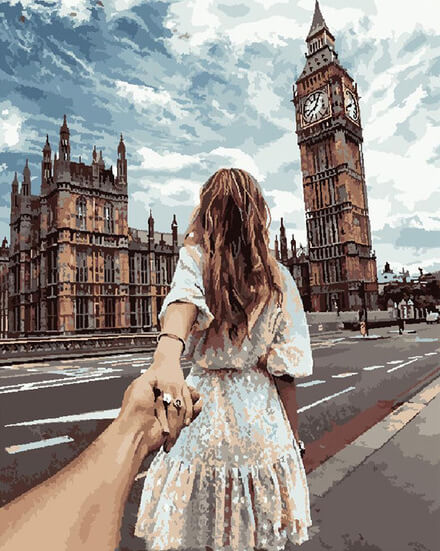 Picassory™ Romantic London