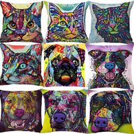 Handmade Dog, Cat Pillowcases (9 Types)