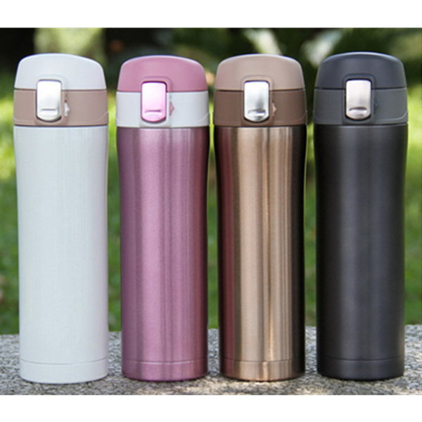 Stainless Steel Thermos 420ml (4 Colors)