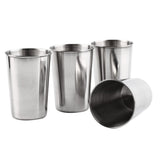 Camping Drinking Mug Set with Case (4 Pieces; 3 Sizes)