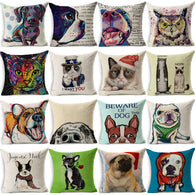 Handmade Colorful Dog, Cat Pillowcases (17 Types)