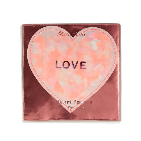 Love Heart Shaker Card Set
