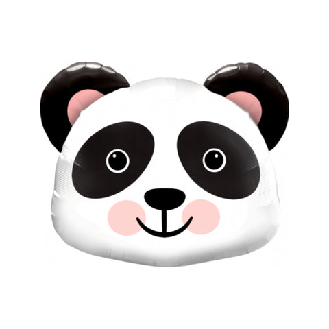 Panda Head Foil Balloon - 78cm