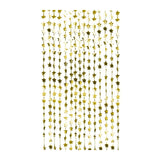 Gold Star Foil Curtain