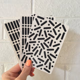 Sprinkle Stickers - Black