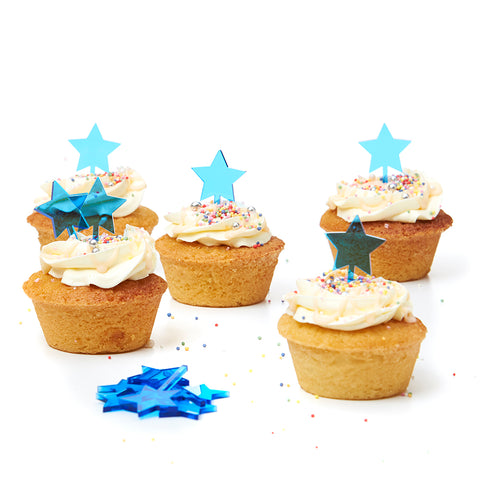 Blue Star Tiny Toppers - Set of 12