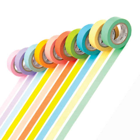 Masking Tape MT - Box set of 10 Pastel Colours