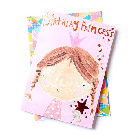 Birthday Princess Card