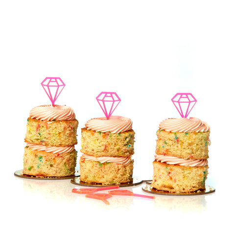 Diamond Tiny Toppers - Set of 3