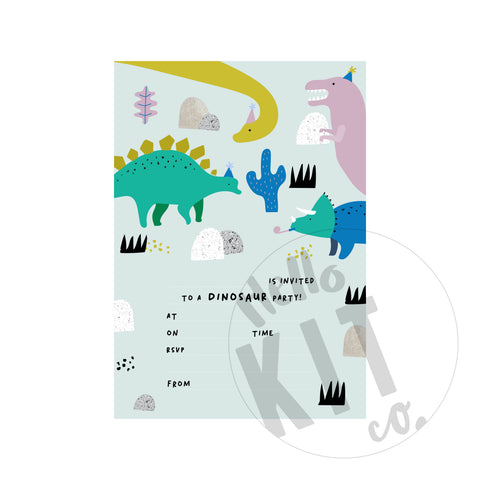 Dinosaur Invite - (Digital Download)