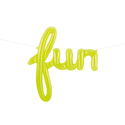 'Fun' Script Balloon