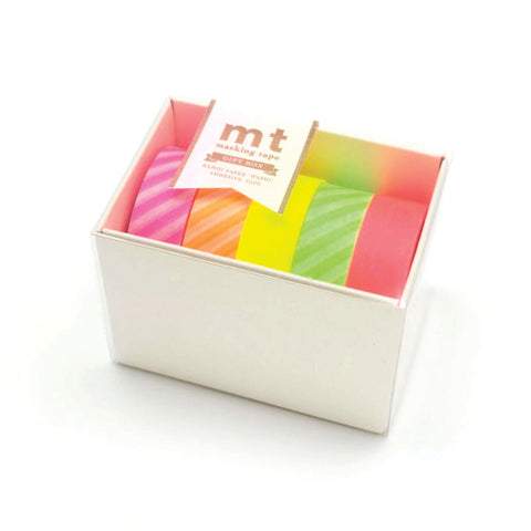 Masking Tape MT - Neon Set of 5