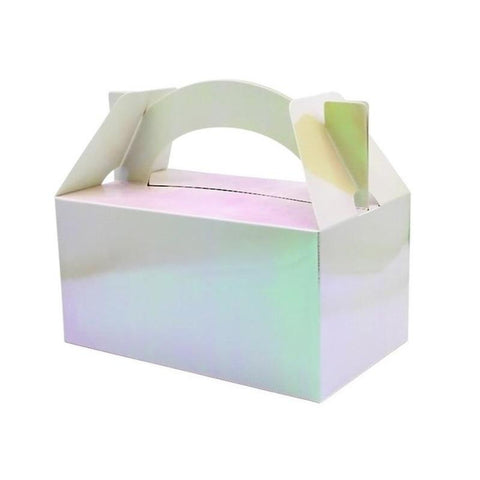 Iridescent Party Boxes - Pack of 5