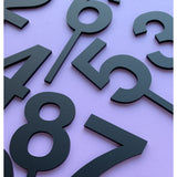 Matt Black Perspex Cake Topper - more numbers available
