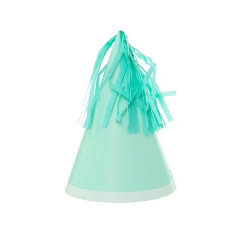 Mint Party hats - Pack of 10