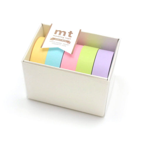 Masking Tape MT - Pastel Set of 5
