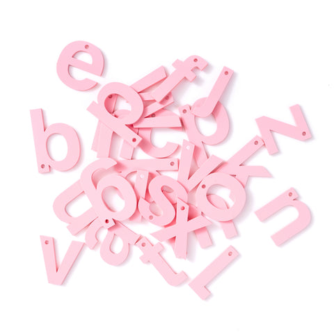 Pastel Strawberry Letters