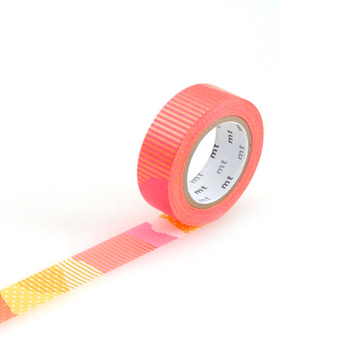 Patchwork Cherry & Orange - Masking Tape MT