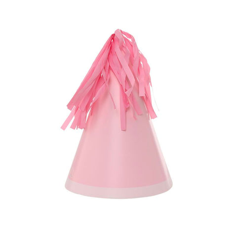 Pink Party Hats - Pack of 10