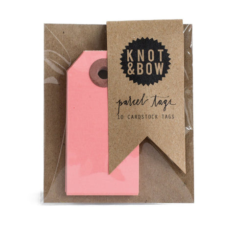 Pink Parcel Tags