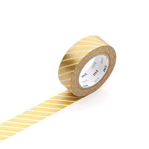 Masking Tape MT - Stripe Gold