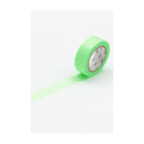 Stripe Shocking Green - Masking Tape MT
