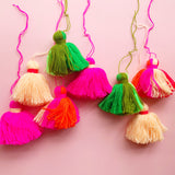 Large Peach Tassel
