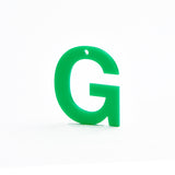 Green Letter - more letters available