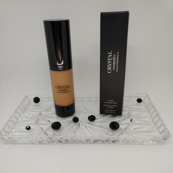 CRYSTAL High-def Foundation Liquid - C6 (Warm) - Crystal Flower