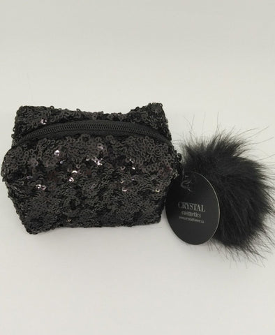 Crystal Cosmetics Gift Bag (Limited Edition) Dazzling Glitter Eye Shadow - Crystal Flower